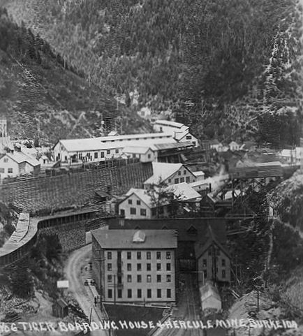 Idaho mines for Burke and wallace silversmiths